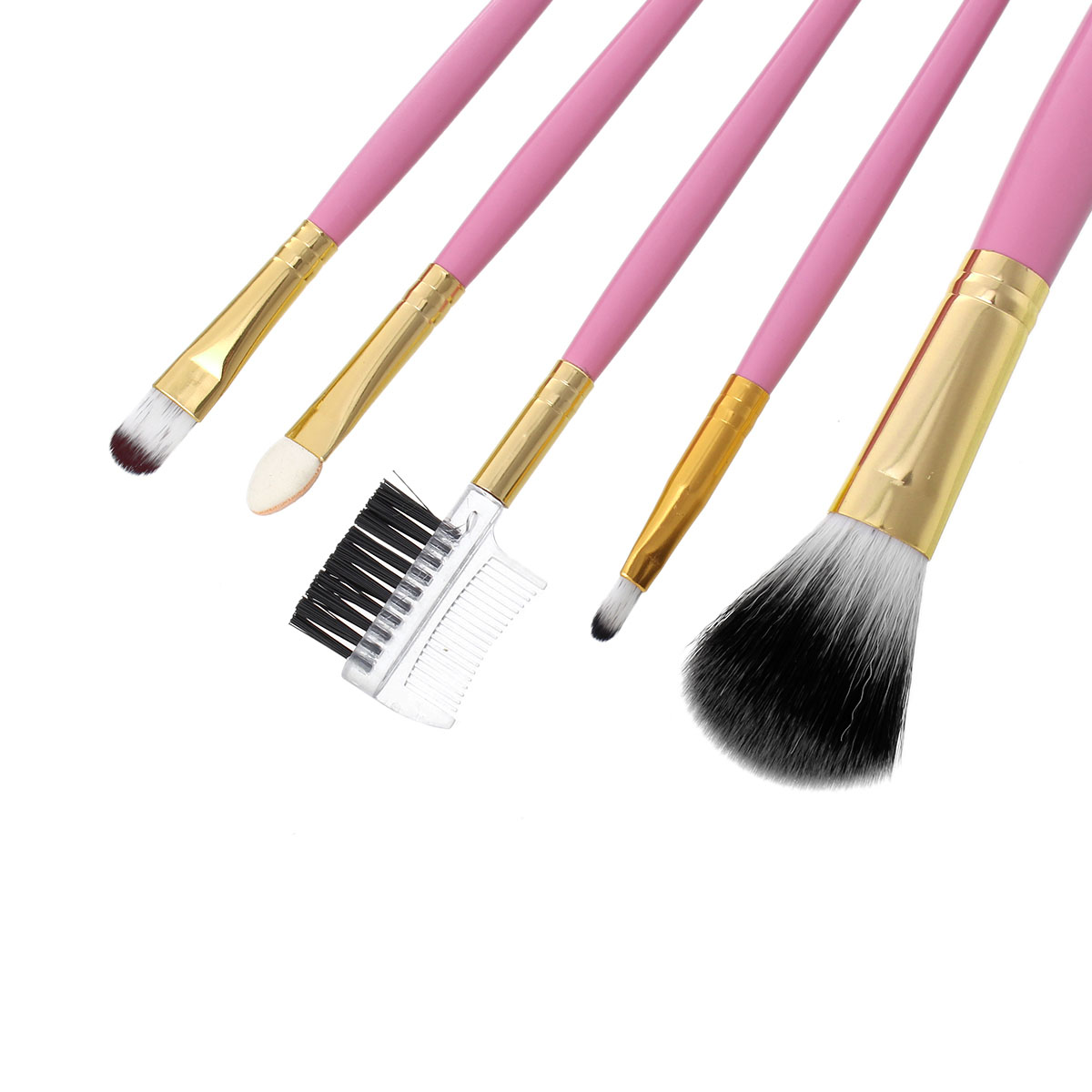 Sparklingdesign Makeup Brushes Cosmetic Tools Pink