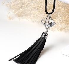 Halsband Diamond Tassel