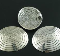 Stort Lyxhänge - Silver - Stor Snäcka