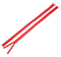 Dragkedja 60cm, Röd