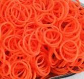 Loom gummiband , 600st , Orange