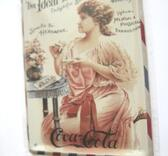 Plåt-tavla. CocaCola Ideal