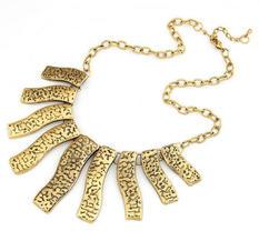 Halsband Exquisite - Vintage Gold Brick