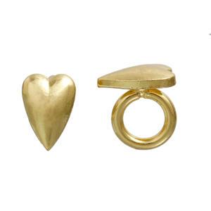 Regaliz - ring med Hjärta , guld
