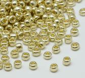 Seedbeads - Pearl gold 3mm 8/0
