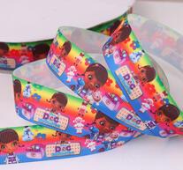 Textilband - Doc McStuffin 25 mm