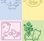 Cuttlebug Embossing folder - Cat
