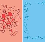 Cuttlebug Embossing Duo - Mickey celebrates