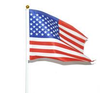 Handflagga- USA